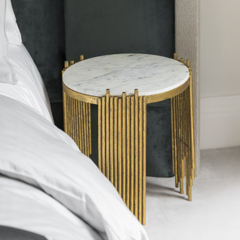 Spike Marble Side Table