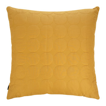 Mega Dot Pillow - Mustard