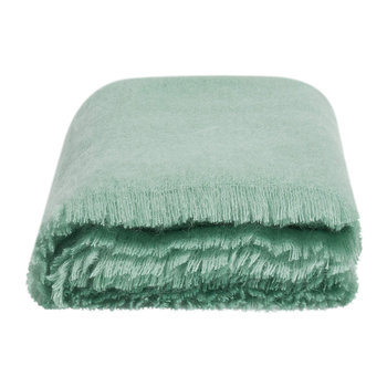 Alba Mohair Throw - Duck Egg