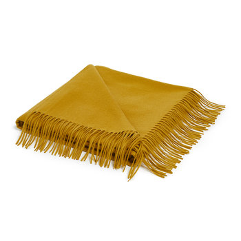 Portobello Throw - Mustard