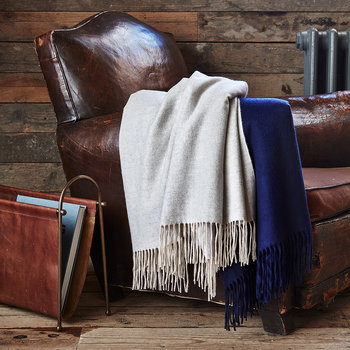 Portobello Throw - Navy
