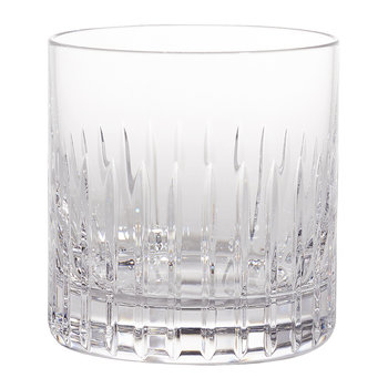 Roebling Cut Crystal Rocks Glass