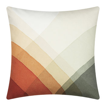 Herringbone Cushion - 40x40cm - Olive