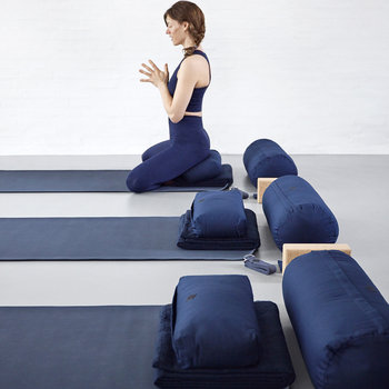 Lightweight Yoga Mat - Blue
