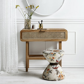 Teak Console Table - Natural