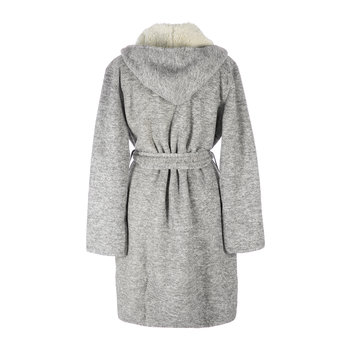 Women's Portola Reversible Robe - Gray Heather
