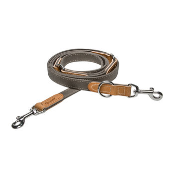 Tivoli Leather Lead - Canvas