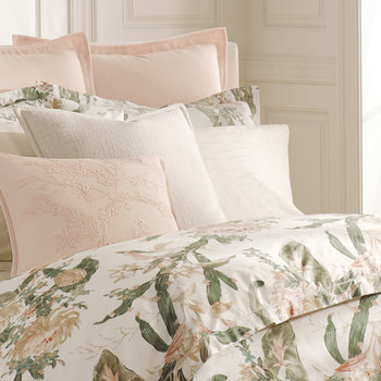 Olivia Duvet Cover - Cream