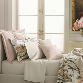 Olivia Pillowcase - Cream