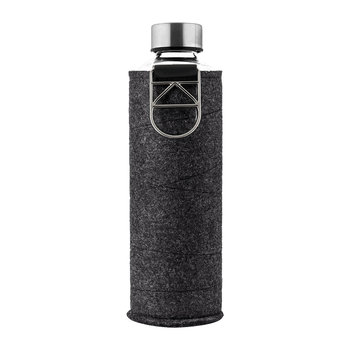 Mismatch Water Bottle with Felt Cover - Silver