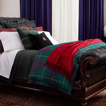 Kensington Quilt Cover - Green