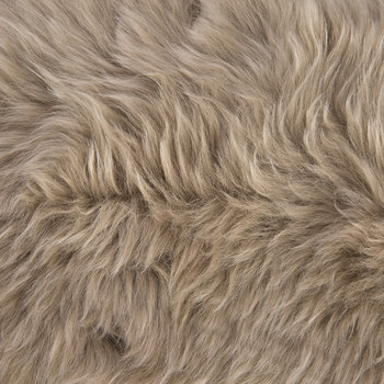 New Zealand Sheepskin Pillow - 28x56cm - Taupe