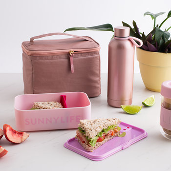 Bloom Lunch Bag - Bloom Pink