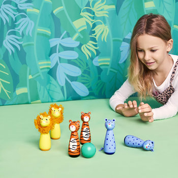 Children's Skittles - Set of 6 - Jungle
