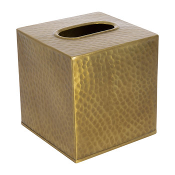 Verum Tissue Box - Antique Brass