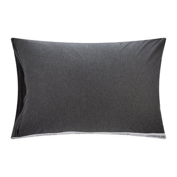 Classic Logo Pillowcases - Set of 2 - Heathered Charcoal