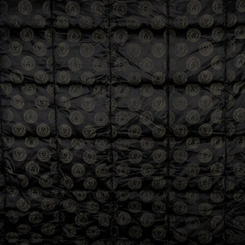 Medusa Royale Reversible Bedspread - Super King - Black