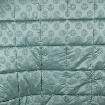 Medusa Royale Reversible Bedspread - Super King - Blue
