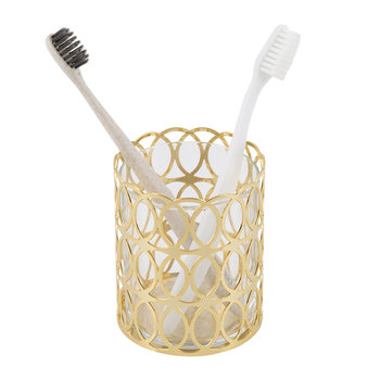 New York Toothbrush Holder - Gold