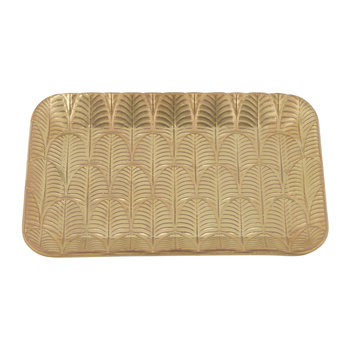 Peacock Soap Dish - Gold