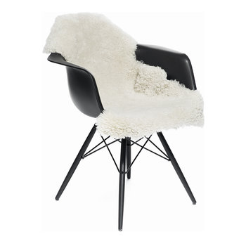 New Zealand Sheepskin Rug - Short Curly Wool - 90x60cm - Ivory