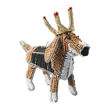 Regal Beagle Ornament