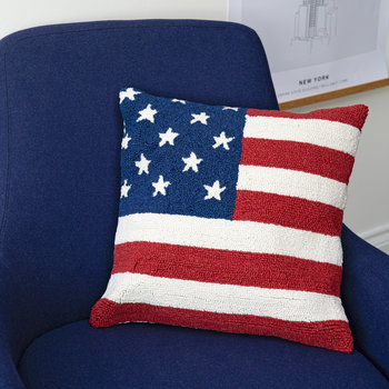 American Flag Cushion - 45x45cm