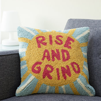 Rise and Grind Cushion - 40x40cm