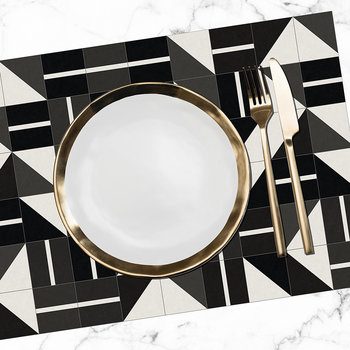Triangles Print Placemat