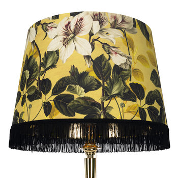 Yellow Garden Cone Lamp Shade