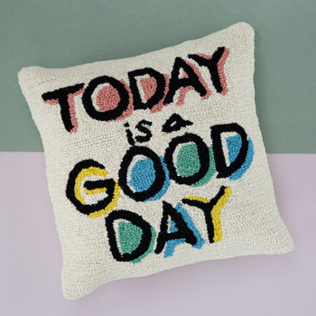 Today is a Good Day Kissen - 40x40cm