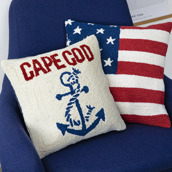 Anchored at Cape Cod Pillow - 40x40cm
