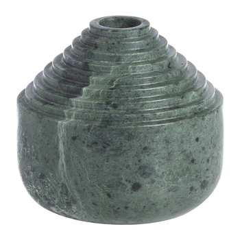 Laps Candle Holder - Green Marble
