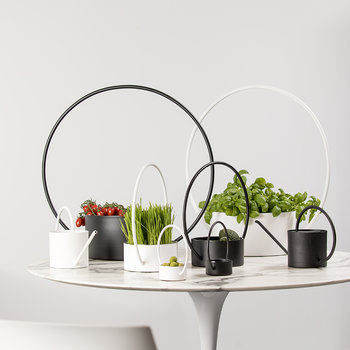 O-Collection Planter - Black
