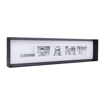 Prado Long Photo Frame - Coffee Bean