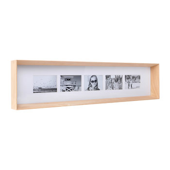 Prado Long Photo Frame - Timber