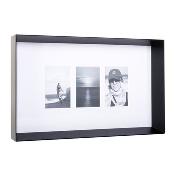 Prado Triple Photo Frame - Coffee Bean