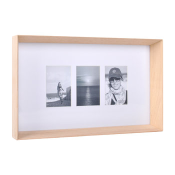 Prado Triple Photo Frame - Timber