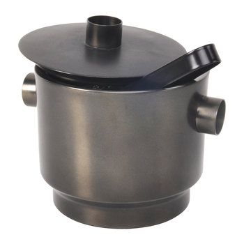 Rondo Stainless Steel Ice Bucket - Black