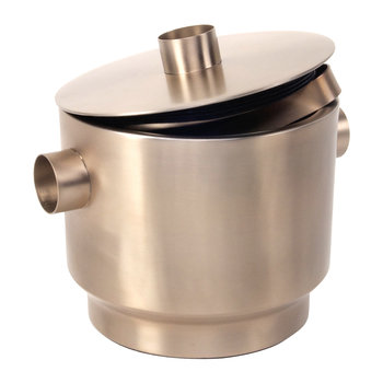 Rondo Stainless Steel Ice Bucket - Soft Copper