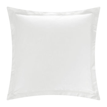 Triomphe Sateen Pillowcase - Silver - 65x65cm