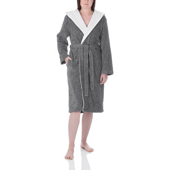 Grey Unisex Bathrobe