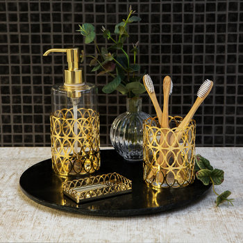New York Soap Dispenser - Gold