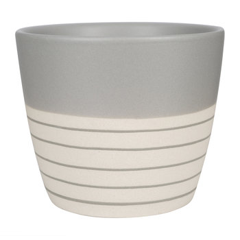 Clef Stripe Mug - Dark Gray