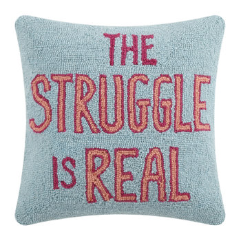 The Struggle Is Real Pillow - 40x40cm