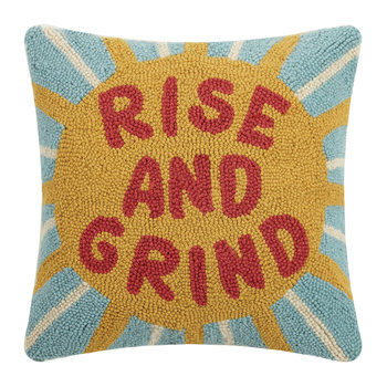 Rise and Grind Kissen - 40x40cm