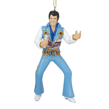 Elvis Tree Decoration - Prehistorical Suit