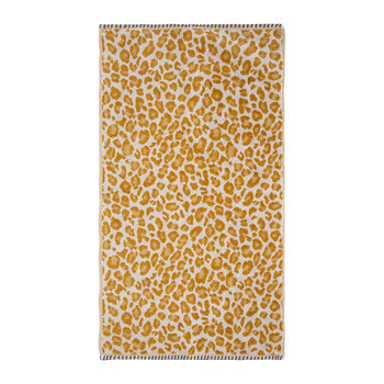 Lola Leopard Towel - Maize