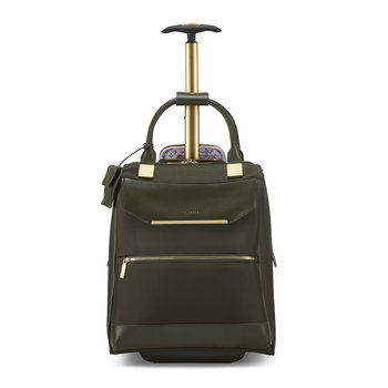 Albany 2 Wheel Business Bag - Olive