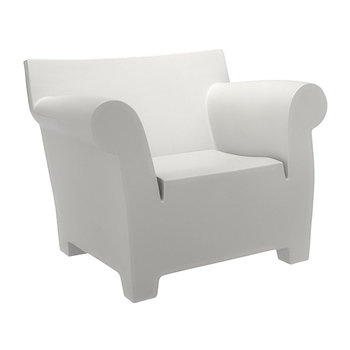 Bubble Club Armchair - Zinc White